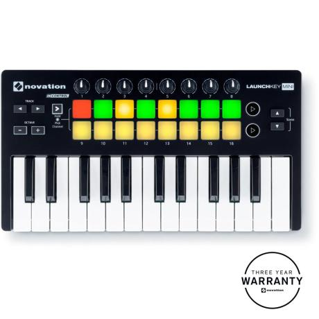 NOVATION MINI-KEY INSTRUMENT FOR MAC & IPAD & PC 1