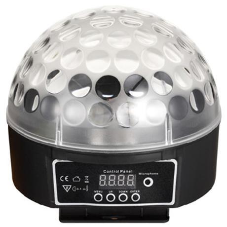 STARAY LED HALF LED BALL RGB 6X3W