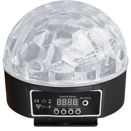STARAY LED HALF LED BALL RGBYWP 6X3W 1