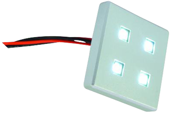 EUROLITE BUILT-IN 4-LED MODULE ΑΣΠΡΟ