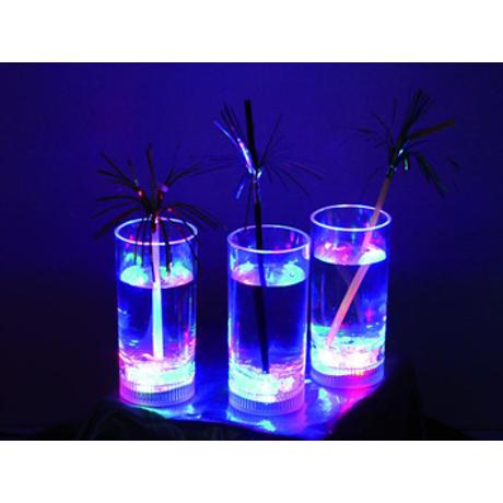 EUROLITE DRINK GLASS LED RGB 14CM 1