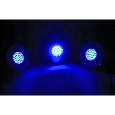 EUROLITE WHITE LED BLUE 1