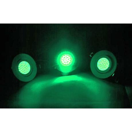 EUROLITE WHITE LED GREEN 1