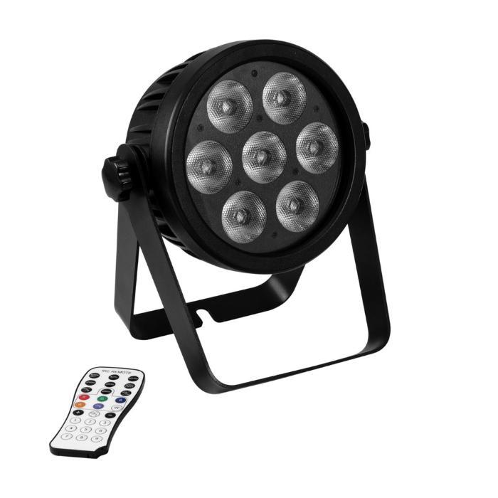 EUROLITE LED PAR 7X9W ΦΩΤΙΣΤΙΚΟ SPOT RGBA/CW/WW+UV 7/1 1