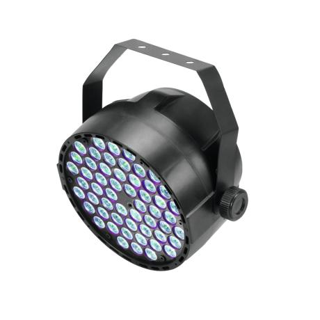 EUROLITE SPOTLIGHT WITH 54 X 3 W LED IN RGB AND DMX CONTROL