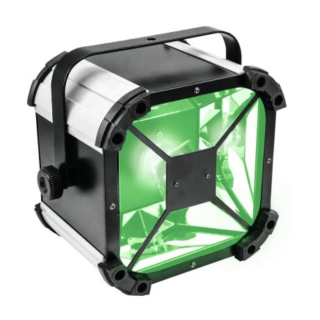 EUROLITE BEAM EFFECT WITH ROTATING MIRROR AND 60 W COB LED (RGBW) 1