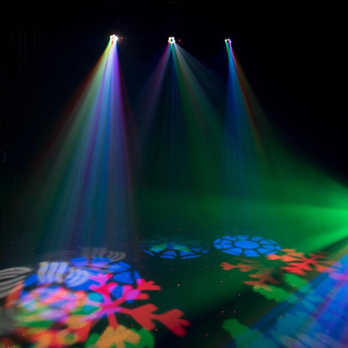 EUROLITE LED ΦΩΤΙΣΤΙΚΟ EFFECT FLOWER & RG LASER 3
