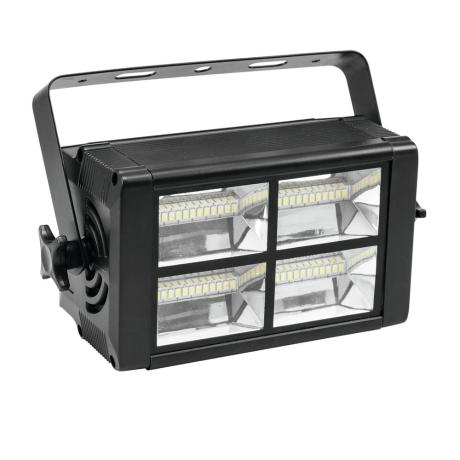 EUROLITE COMPACT STROBE WITH 48 SMD LEDS, ADJUSTABLE FLASH FREUQUENCY + DMX 1