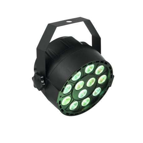 EUROLITE COMPACT SPOTLIGHT WITH 12 X 3 W 3IN1 LEDS IN RGB AND DMX CONTROL 1
