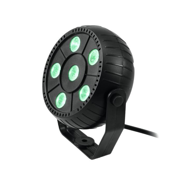 EUROLITE LED PAR 6X1,5W ΦΩΤΙΣΤΙΚΟ SPOT RGB 3/1 1