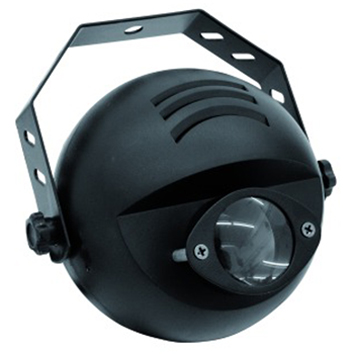 EUROLITE NARROW-BEAM PINSPOT WITH 9 W 3IN1 LED IN RGB AND DMX