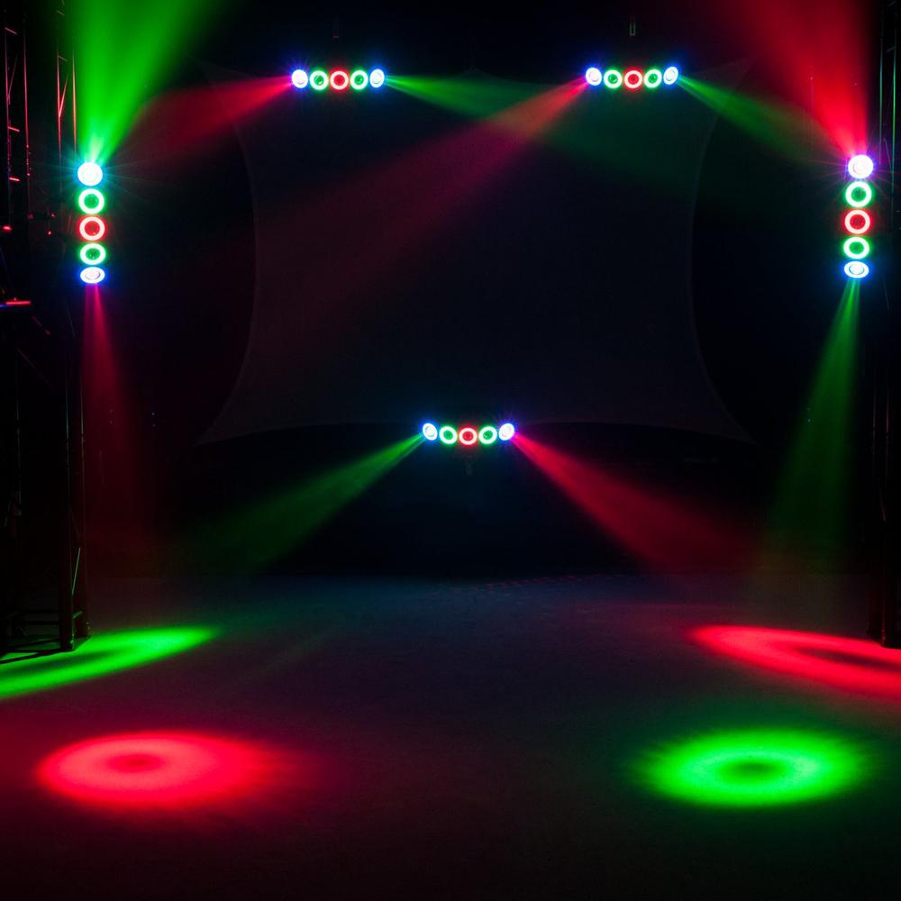 EUROLITE LED HYBRID ΦΩΤΙΣΤΙΚΟ BEAM RGBAW+UV 5X10W+50X0,2W