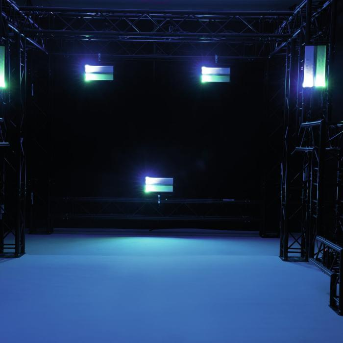 EUROLITE 3/1 LED ΦΩΤΙΣΤΙΚΑ ΕΦΦΕ STROBE +RGB COLOR MIXING 4