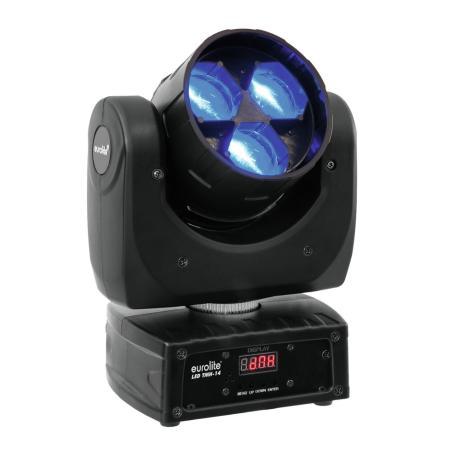 EUROLITE ΚΙΝΗΤΗ ΚΕΦΑΛΗ ME ZOOM 3X12W COB LED RGBW 1