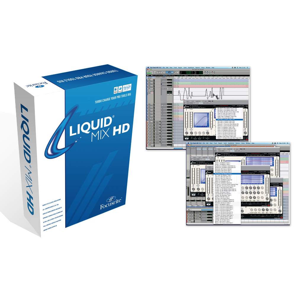 FOCUSRITE SOFTWARE PLUG-IN FOR PRO-TOOLS