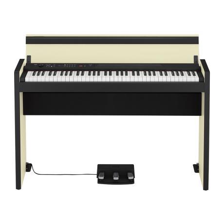 KORG DIGITAL STYLISH PIANO CREAM-BLACK