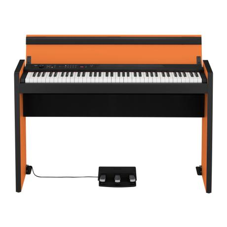 KORG DIGITAL STYLISH PIANO ORANGE-BLACK 1