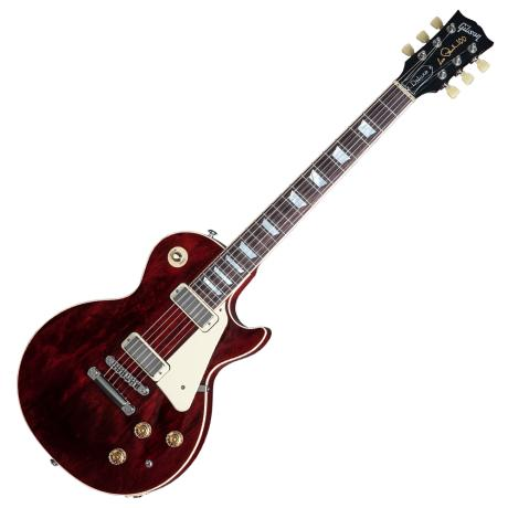 GIBSON LES PAUL DELUXE 2015 WINE RED 1