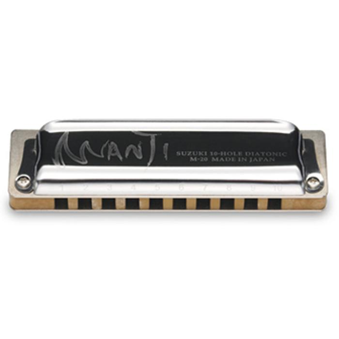 SUZUKI MANJI HARMONICA 10H C NATURAL MINOR 1