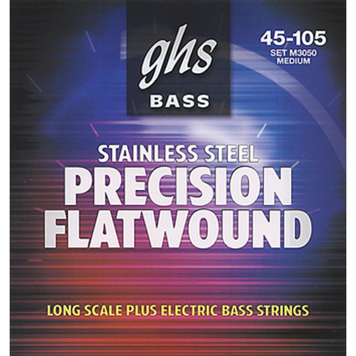 GHS BASS STRINGS PRECISION FLATS 045-105 MEDIUM 1