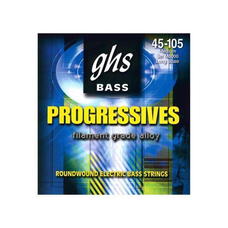 GHS BASS STRINGS PROGRESSIVES MEDIUM 45-105 1