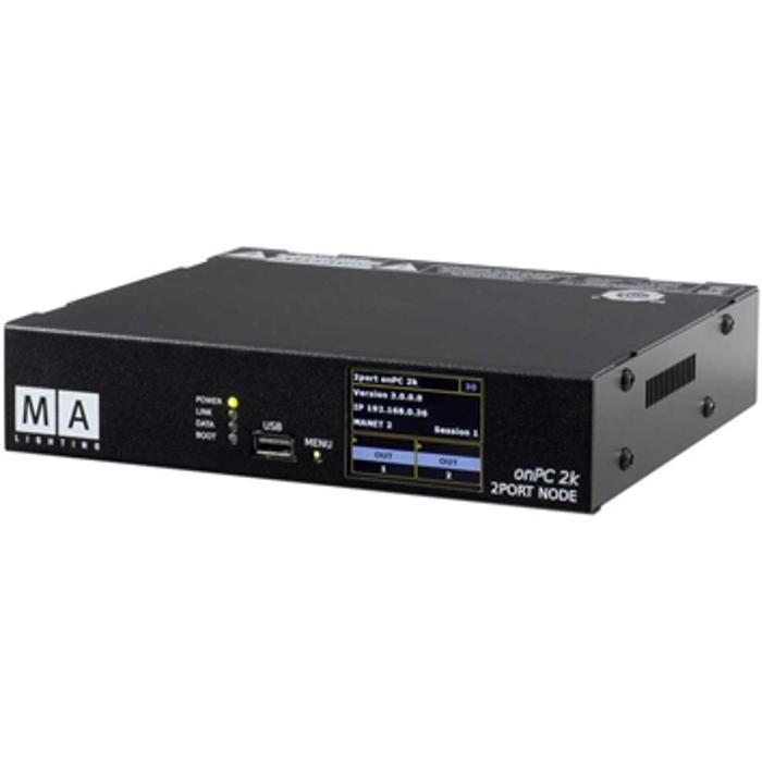 MA LIGHTING MA2 NETWORK 2PORT DMX EXTENDER (2048) 1
