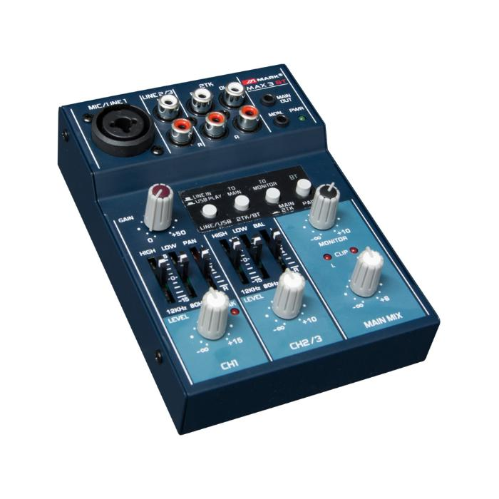 MARK BLUETOOTH & USB MIXER 3 ΚΑΝΑΛΙΩΝ 1