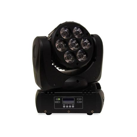 MARK LED WASH MOVING HEAD WITH 7X12W FULL COLOR RGBW LEDS 1