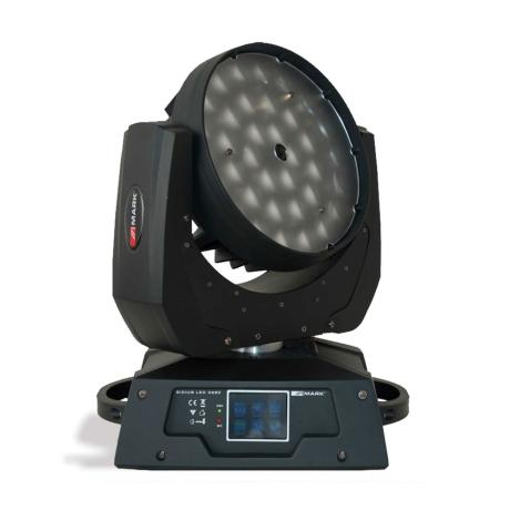MARK LED WASH MOVING HEAD WITH 7X12W FULLCOLOR RGBW LEDS & ZOOM 1