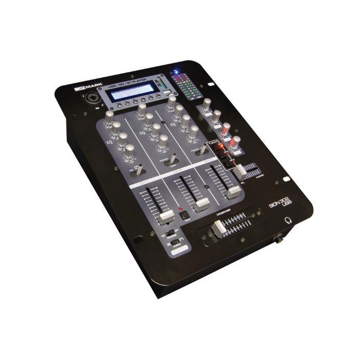 MARK DJ MIXER 3 CHANNEL-0