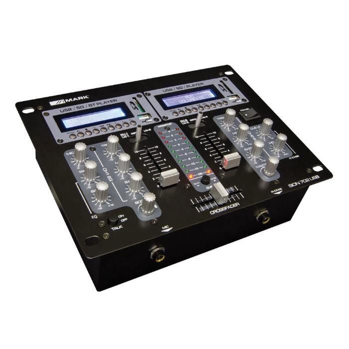 MARK DJ MIXER 2 CHANNEL 1