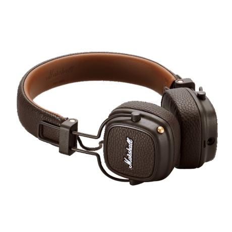 MARSHALL FOLTABLE HEADPHONES CLOSED-BACK DESIGN+MIC BROWN
