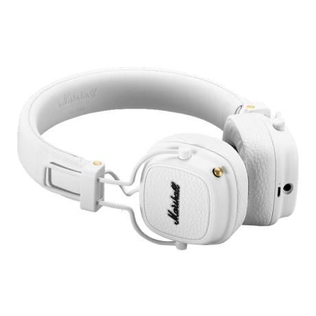 MARSHALL FOLTABLE BLUETOOTH HEADPHONES CLOSED-BACK +MIC WH