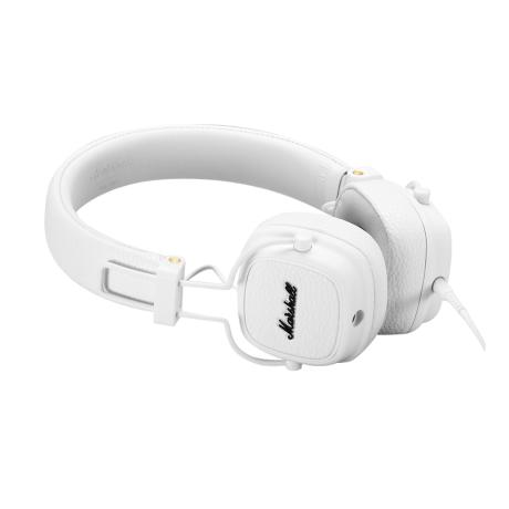MARSHALL FOLTABLE HEADPHONES CLOSED-BACK DESIGN+MIC WHITE 1