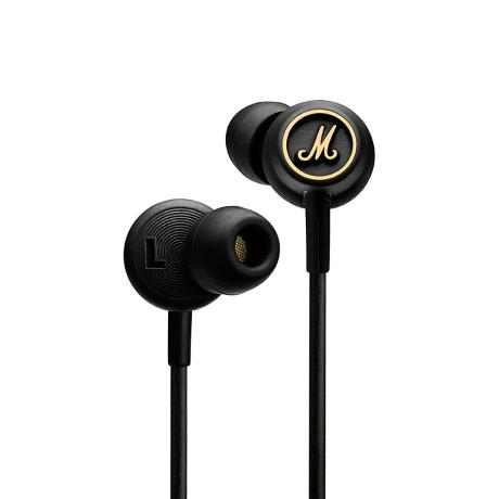 MARSHALL IN-EAR HEADPHONES + MIC + EQ BLACK