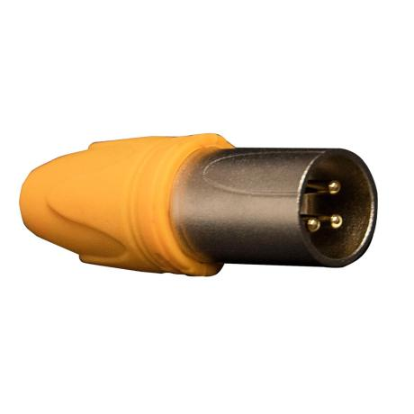 MARK 3 POLE MALE CABLE CONNECTOR WATERPROOF 1