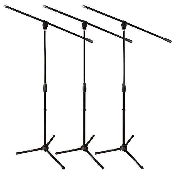 ULTIMATE MICROPHONE STAND WITH ARM. SET OF 3 PIECES