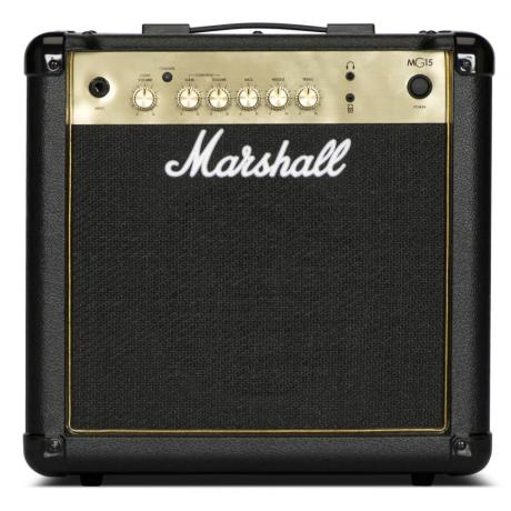 MARSHALL GUITAR AMPLIFIER COMBO 15W GOLD 1