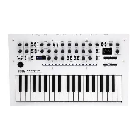 KORG POLYPHONIC ANALOG SYNTHESIZER WHITE