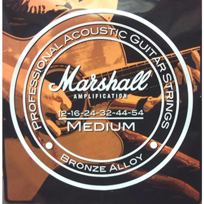 MARSHALL ACOUSTIC GUITAR STRINGS 12-54 GAUGE 1