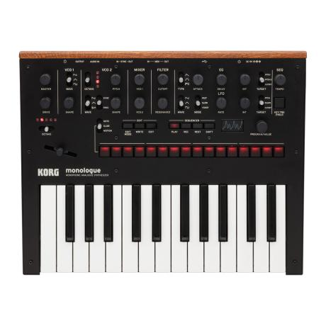 KORG MONOPHONIC ANALOG SYNTHESIZER BLACK