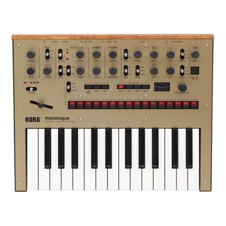 KORG MONOPHONIC ANALOG SYNTHESIZER GOLD