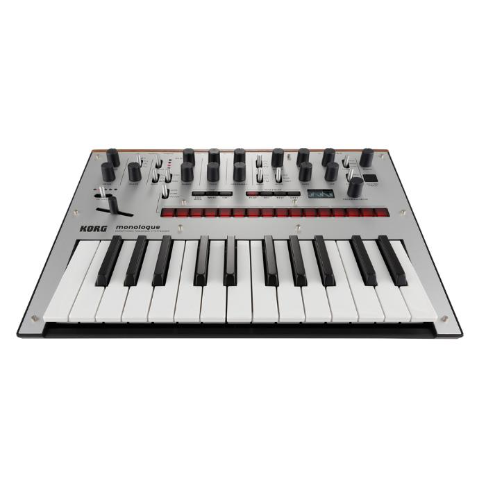 KORG MONOPHONIC ANALOG SYNTHESIZER SILVER