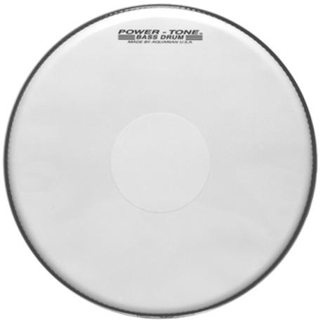 AQUARIAN 26'' POWERTONE WHITE MARCHING 1