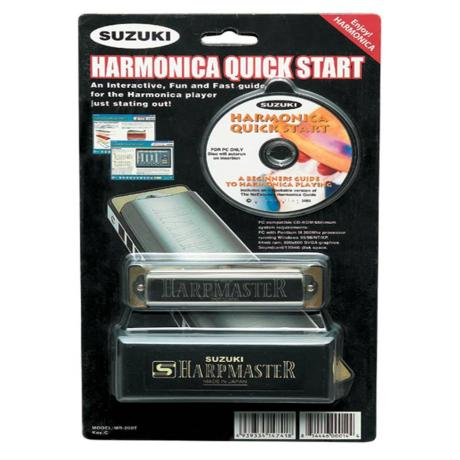 SUZUKI EDUCATIONAL CD+HARMONICA MR200