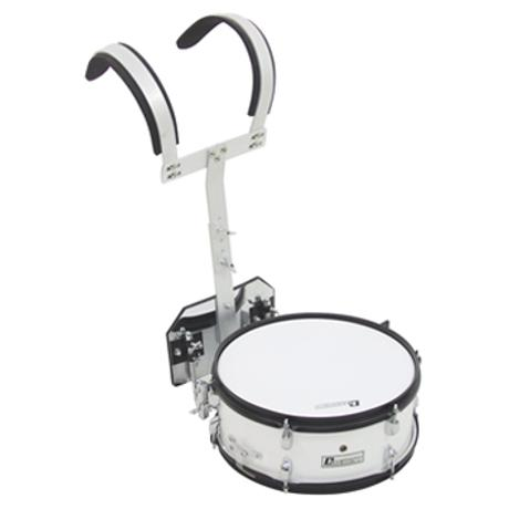 DIMAVERY MS-200 MARCHING SNARE WHITE 1