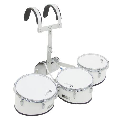 DIMAVERY 3-PIECE PROFESSIONAL MARCHING DRUM SET