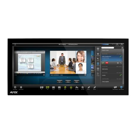 AMX 20.3'' Modero X Series Panoramic Tabletop T/P 1
