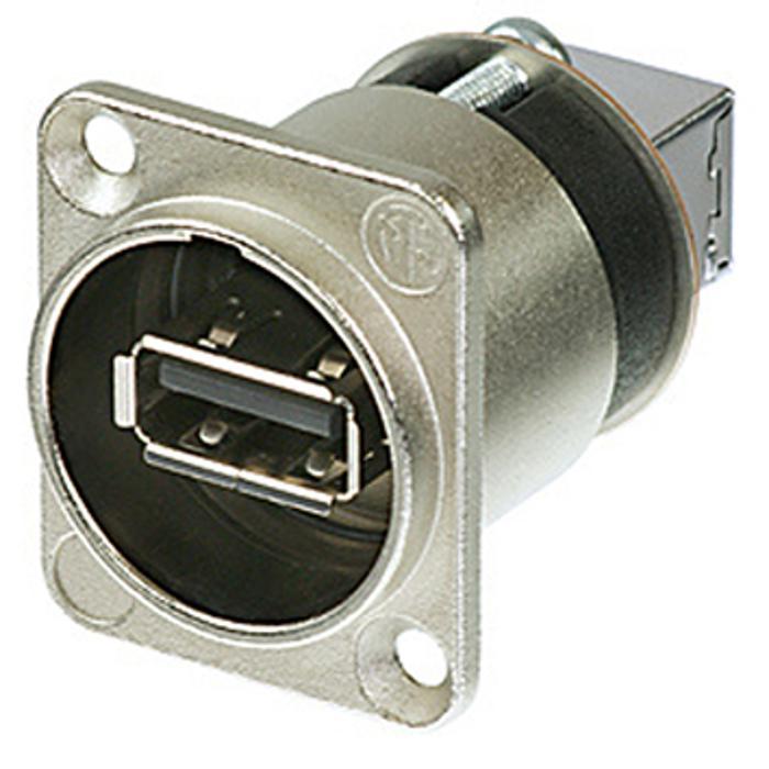 NEUTRIK USB A-USB B ADAPTER, SEALING RING, BLACK