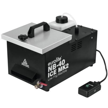 EUROLITE COMPACT MACHINE 450 W 1.2 LITER TANK REMOTE CONTROL ICE CUBE COOLING 1